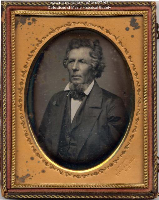 George M. Howe daguerreotype, Portland, ca. 1855