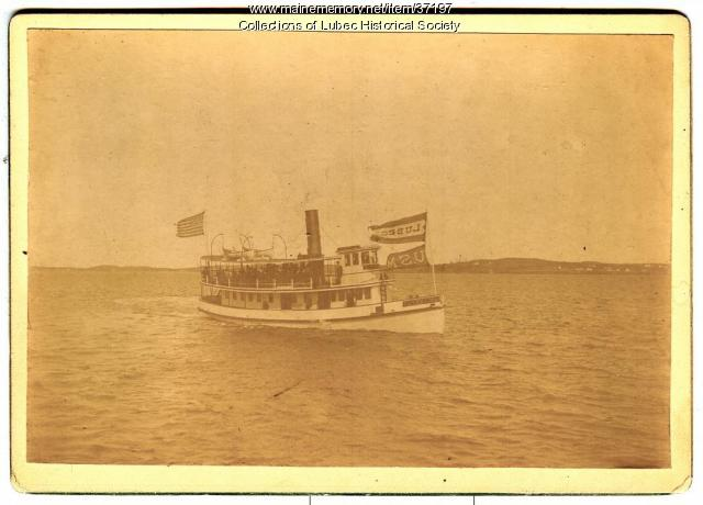 Ferry, Lubec, 1892