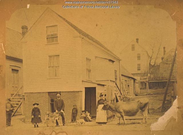 Danish family, Portland, ca. 1908