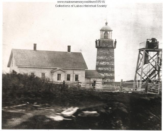 West Quoddy Head Light, Lubec, ca. 1860