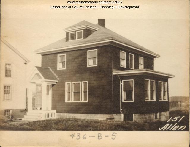 149-151 Allen Avenue, Portland, 1924