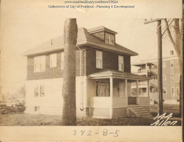 142 Allen Avenue, Portland, 1924