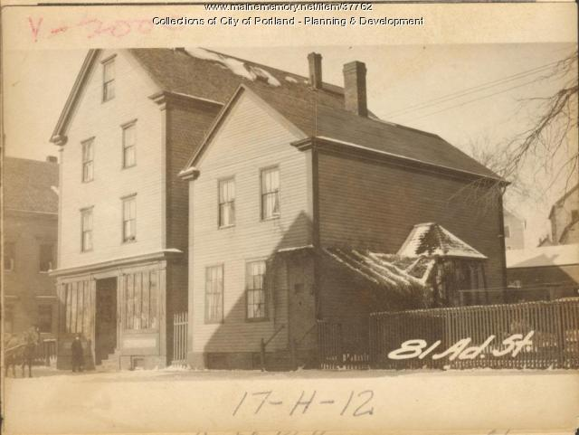 79-81 Adams Street, Portland, 1924