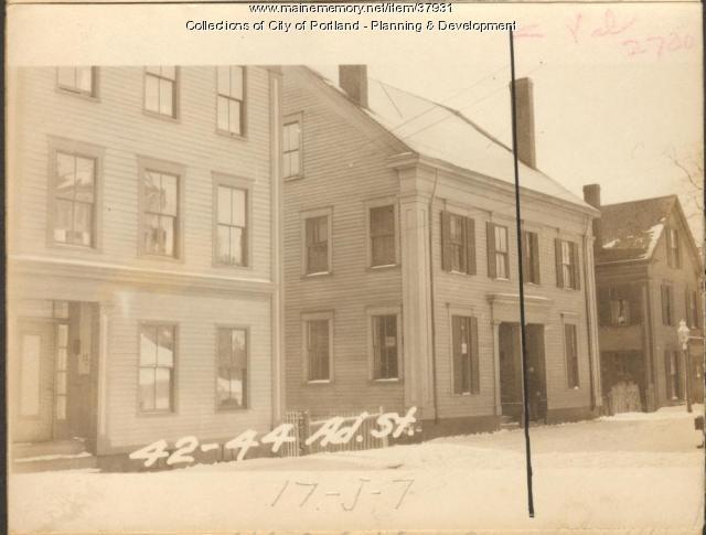 42 Adams Street, Portland, 1924