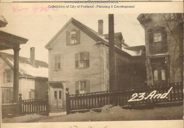 21-23 Anderson Street, Portland, 1924