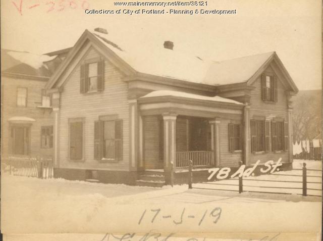 78-80 Adams Street, Portland, 1924