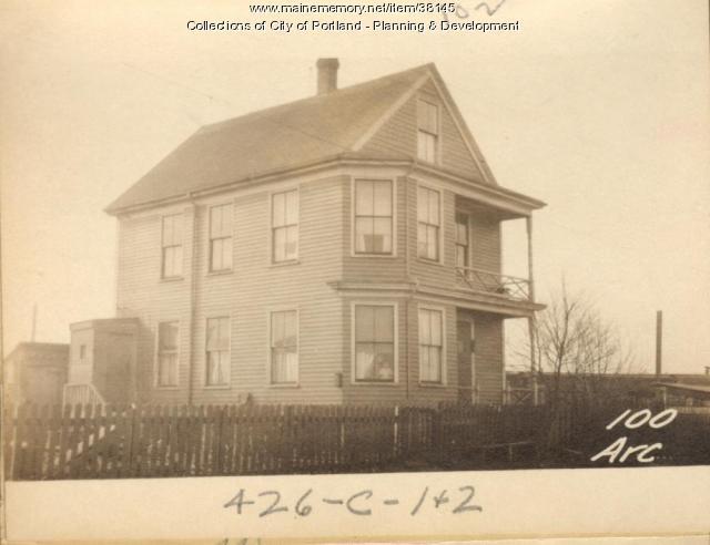 102 Arcadia Street, Portland, 1924