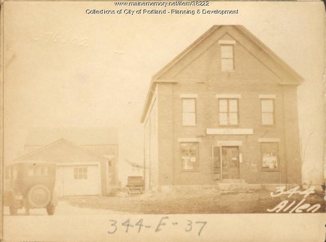 340-346 Allen Avenue, Portland, 1924