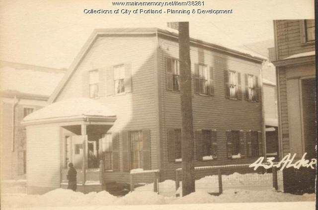 43 Alder Street, Portland, 1924