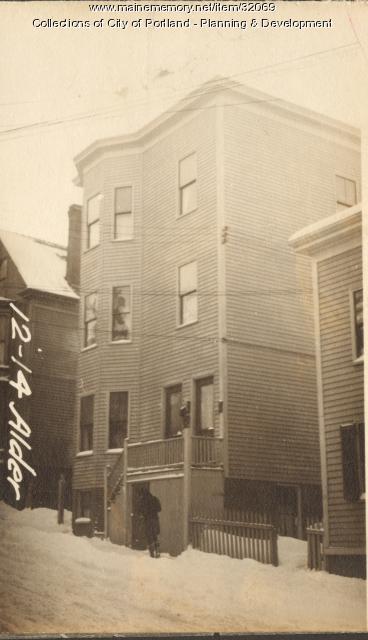 12-14 Alder Street, Portland, 1924