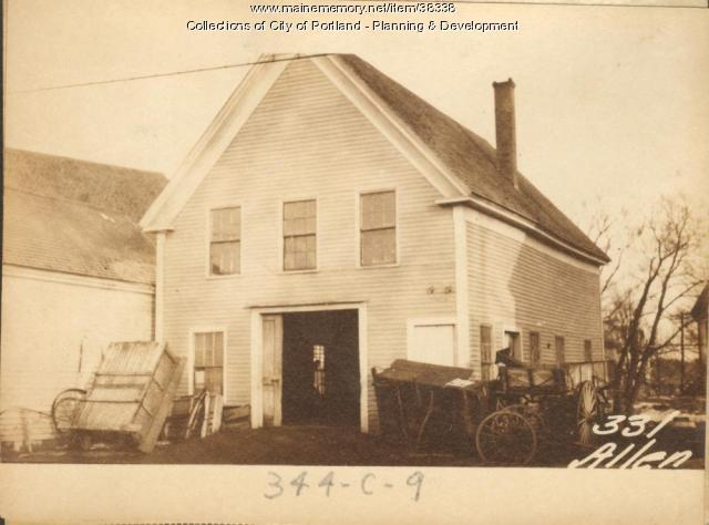 331-333 Alen Avenue, Portland, 1924