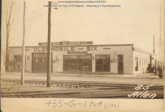 31-37 Allen Avenue, Portland, 1924