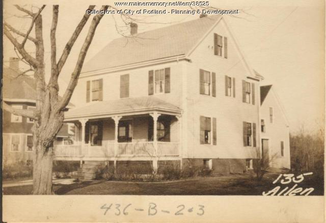 133-135 Allen Avenue, Portland, 1924