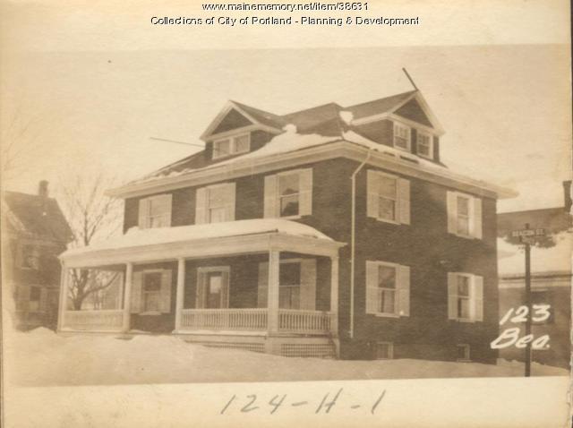 123 Beacon Street, Portland, 1924