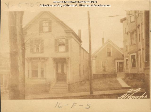 24 Atlantic Street, Portland, 1924