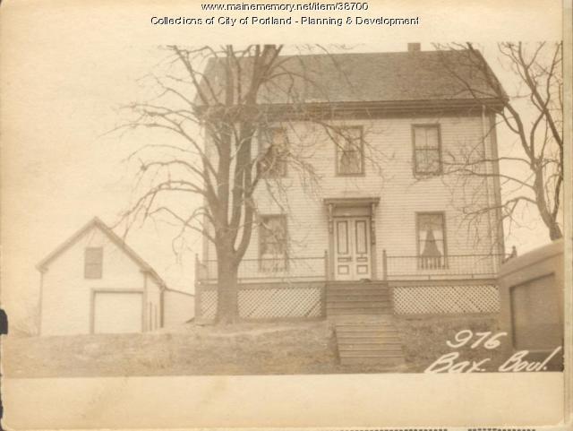 976 Baxter Boulevard, Portland, 1924