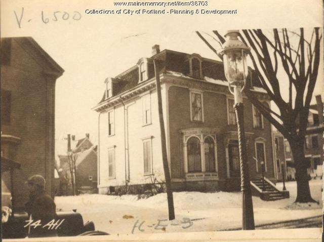 72-74 Atlantic Street, Portland, 1924