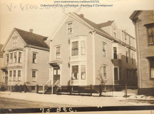 75 Beckett Street, Portland, 1924