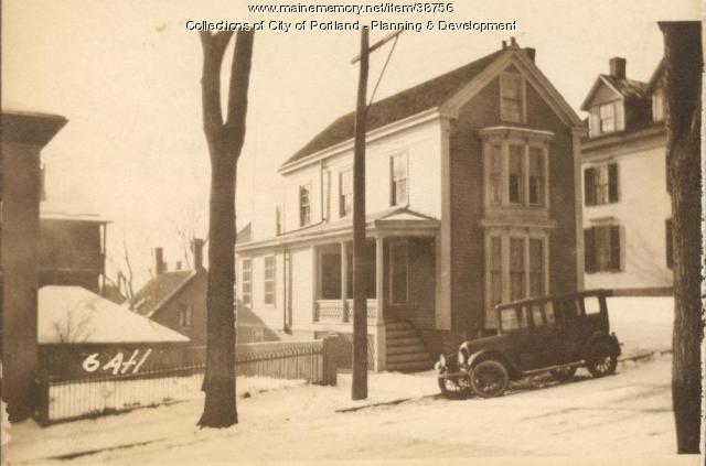 6-8 Atlantic Street, Portland, 1924