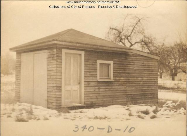 Garage, Arthur Street, Portland, 1924
