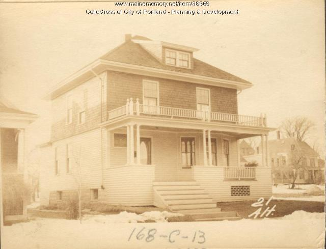 21-23 Alton Street, Portland, 1924