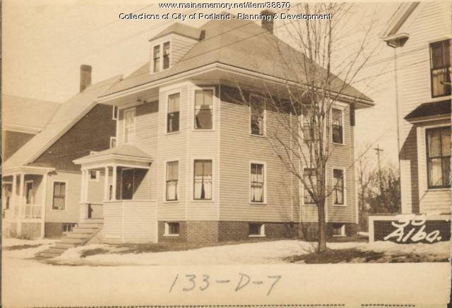 33-35 Alba Street, Portland, 1924