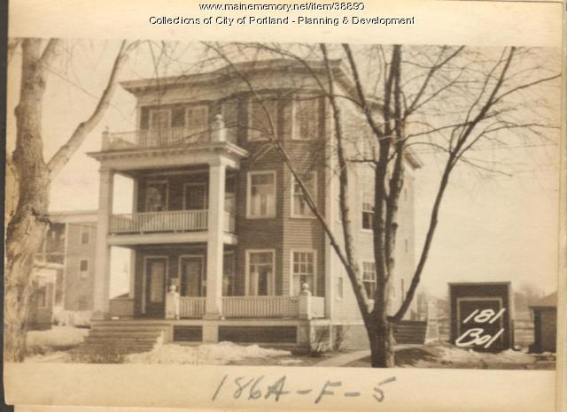 181-183 Bolton Street, Portland, 1924