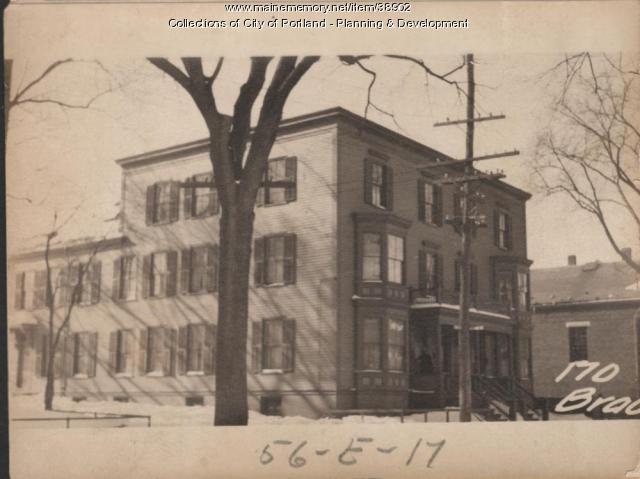 168-174 Brackett Street, Portland, 1924