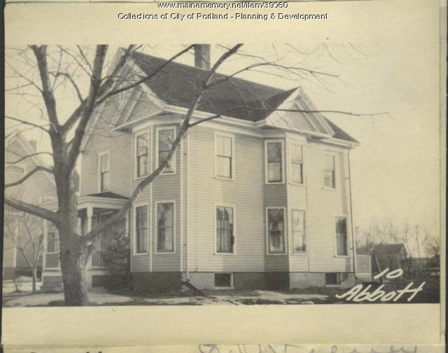 10-12 Abbott Street, Portland, 1924