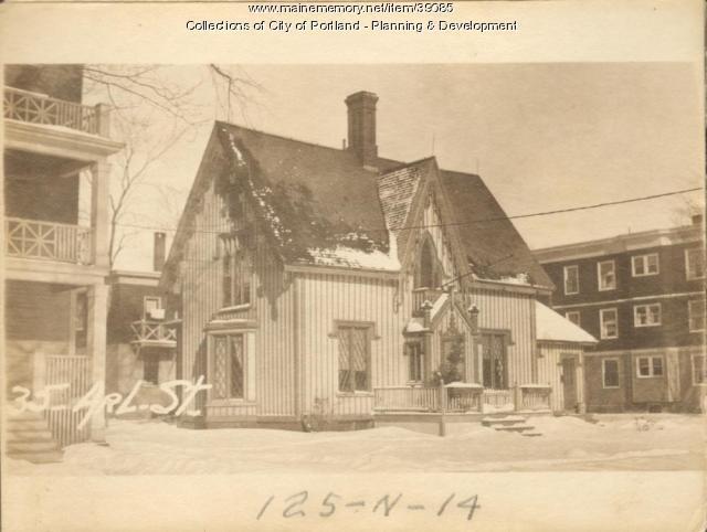31-37 Arlington Street, Portland, 1924