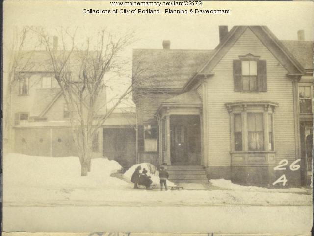 24-26 A Street, Portland, 1924
