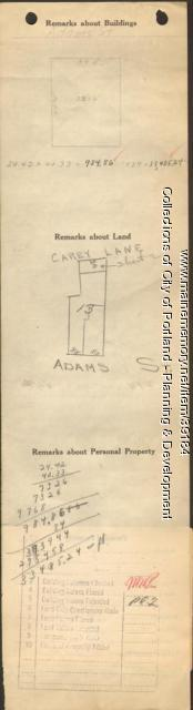 83-85 Adams Street, Portland, 1924