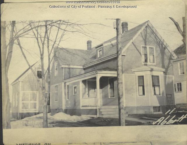 11 Abbott Street, Portland, 1924
