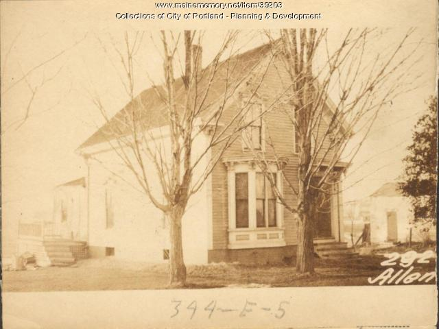 292 Allen Avenue, Portland, 1924