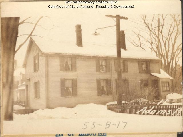 11 Adams Place, Portland, 1924