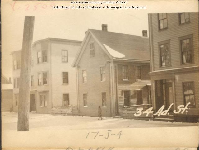 32-32 Adams Street, Portland, 1924