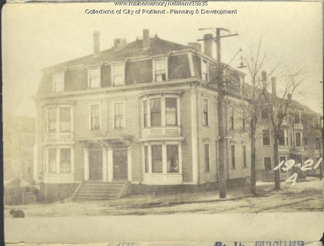 17-21 A Street, Portland, 1924