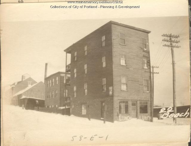 13-19 W. Commercial, Portland, 1924