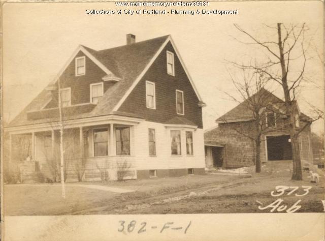 375 Auburn Street, Portland, 1924