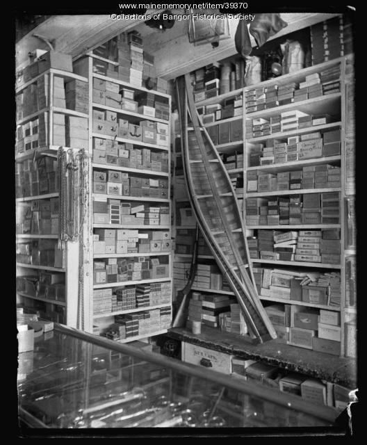 Interior of Dickey Store, Bangor, ca. 1895