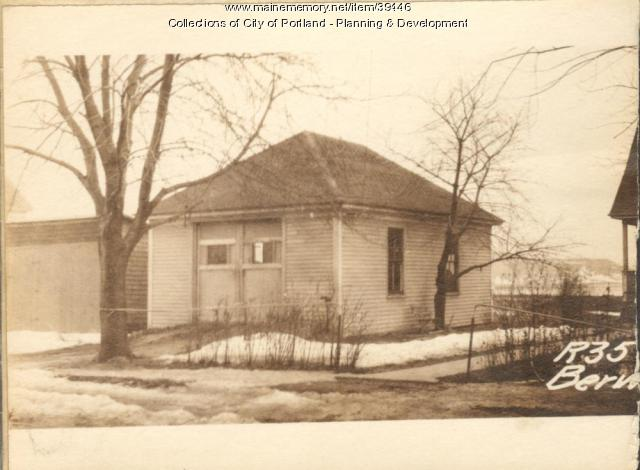 33 Berwick Street, Portland, 1924