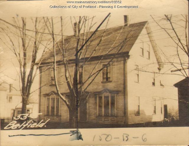 55 Bell Street, Portland, 1924