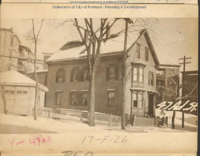 45-47 Adams Street, Portland, 1924