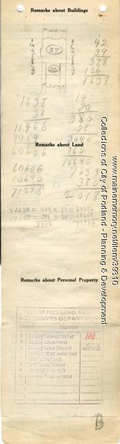 141-143 Pine Street, Portland, 1924