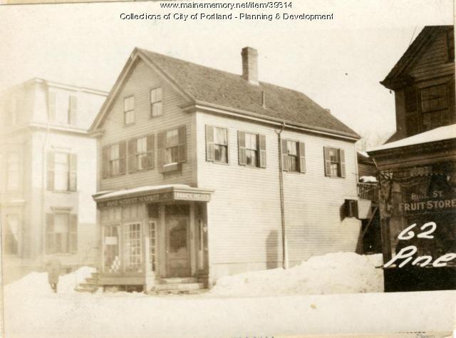 62-64 Pine Street, Portland, 1924