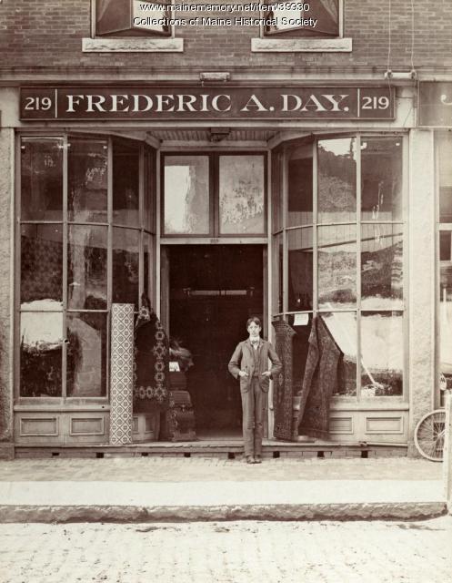 Frederick A. Day, Biddeford, ca. 1900