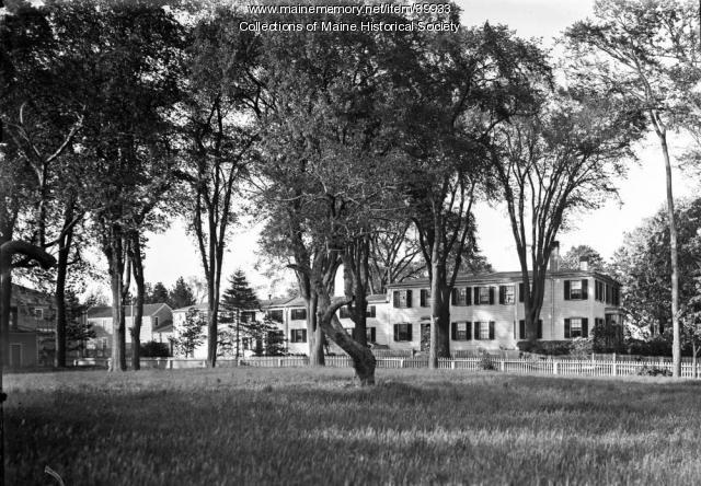 Deering Mansion, Portland, ca. 1900