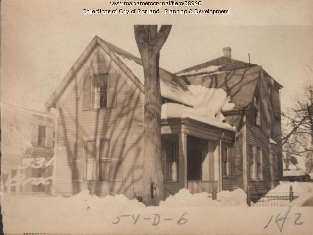 331 Brackett Street, Portland, 1924
