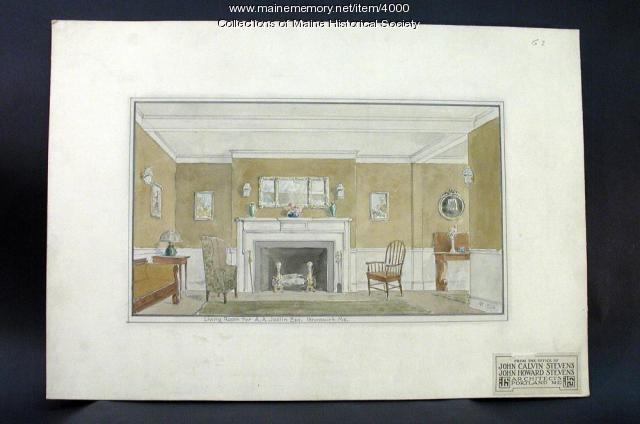 A. A. Joslin house, Brunswick, 1924