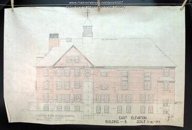 Eastern Maine Insane Hospital, Bangor, 1896